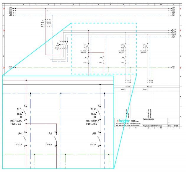 dokumentation beim bau von niederspannungs schaltanlagen schaltschrankbau unterverteilung und. Black Bedroom Furniture Sets. Home Design Ideas