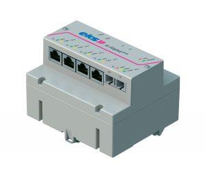 Mit dem robusten Fast-Ethernet-Switch E-Light REG, der mit verschiedenen Port-Kombinationen erhältlich ist, können vielfältige Anwendungen realisiert werden. (Bild: EKS Engel GmbH & Co. KG)