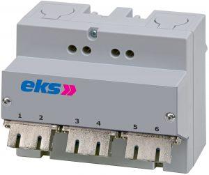 Die Spleißbox FIMP-REG, die sich schnell installieren lässt, sorgt für einen zuverlässigen Anschluss von Lichtwellenleitern und trägt zu einer Reduzierung der Betriebskosten bei. (Bild: EKS Engel GmbH & Co. KG)