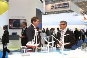 Weltleitmesse Wind-Energy Hamburg