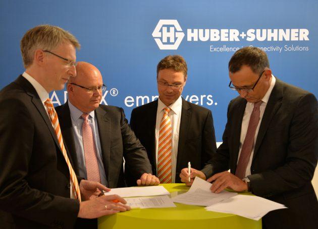 Weidmüller und Huber+Suhner verstärken Kooperation