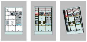 Ansichtssache: Aufbaupläne lassen sich aus verschiedenen Perspektiven betrachten und ausdrucken. (Bild: Hager Vertriebsgesellschaft mbH & Co. KG)