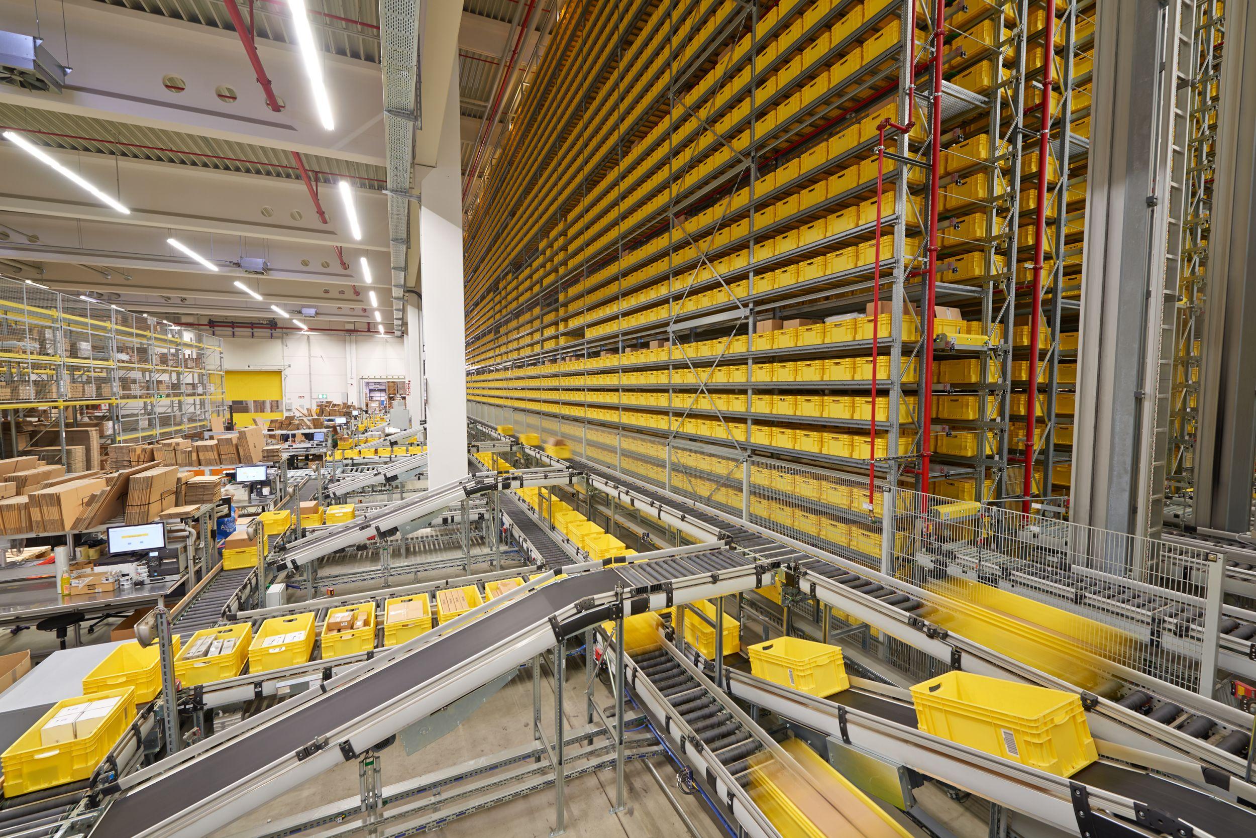 Rittal in Haiger mit neuem Logistikzentrum für den Weltmarkt