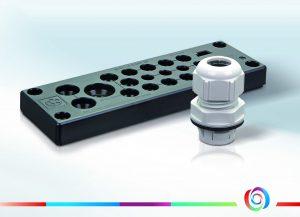 Neu bei automation24.de: vielfältig einsetzbare Verschraubungen und Kabeldurchführsysteme von Lapp Kabel. (Automation24 GmbH)