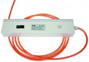 Die LED-Schaltschrankleuchten Sensorlumi sind kompatibel zu allen gängigen Schaltschranksystemen. (Bild: 3-K Elektrik GmbH)