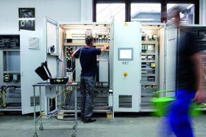 Die Firma Baader aus Königsbrunn setzt bei der Erstellung ihrer elektrischen und elektropneumatischen Schaltanlagen auf die E-CAD-Lösung von WSCAD. (Bild: WSCAD electronic GmbH/Baader GmbH & Co.)