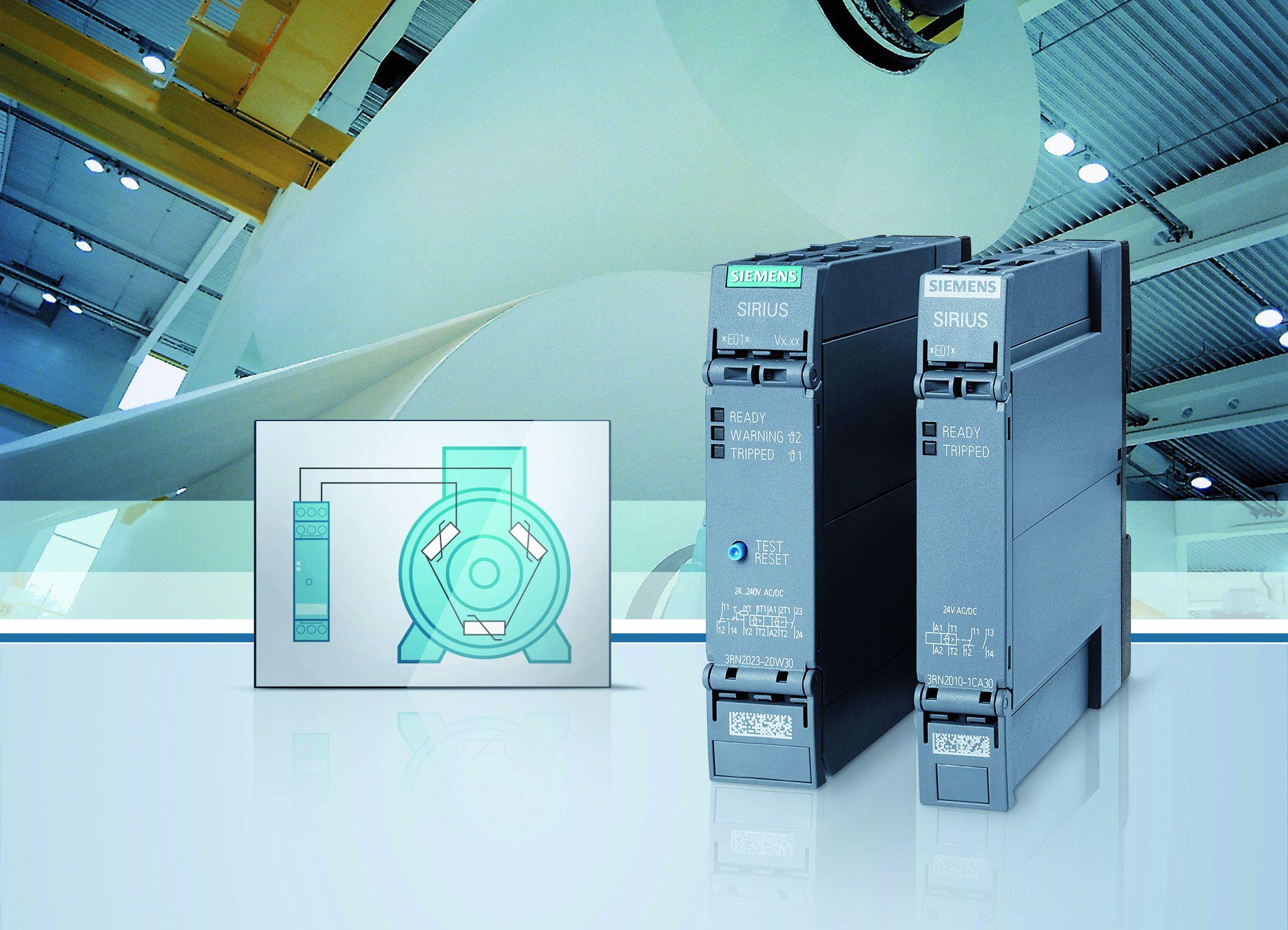 Thermistor motorschutzrelais ben tigt weniger platz for Siemens platz