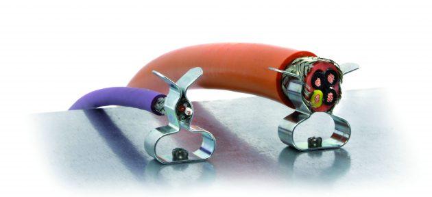 Zwei neue Multi-Schirmklammern für 3-18 mm Schirmdurchmesser