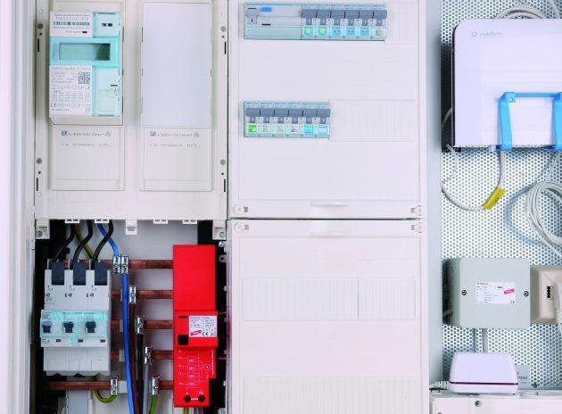 Überspannungsschutz für elektronische Haushaltszähler