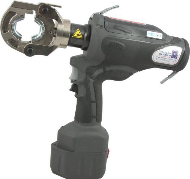 Pressen und schneiden mit neuen Akku-Werkzeugen