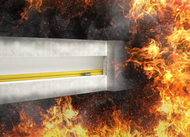 Brandschutzkanal sorgt im Brandfall für Funktionserhalt bis 90 Minuten