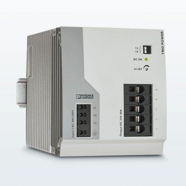 Robuste Stromversorgung mit 40A für widrige Umgebungsbedingungen