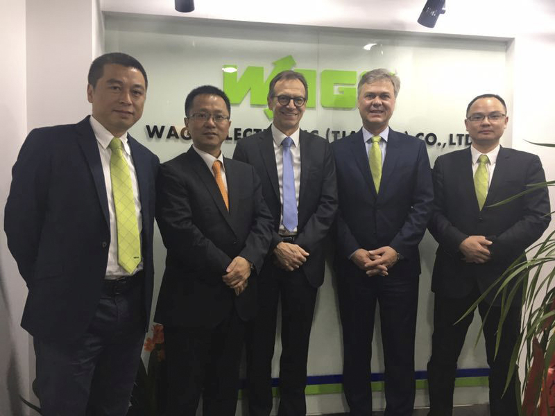 Wago eröffnet 9. Vertriebsbüro in China