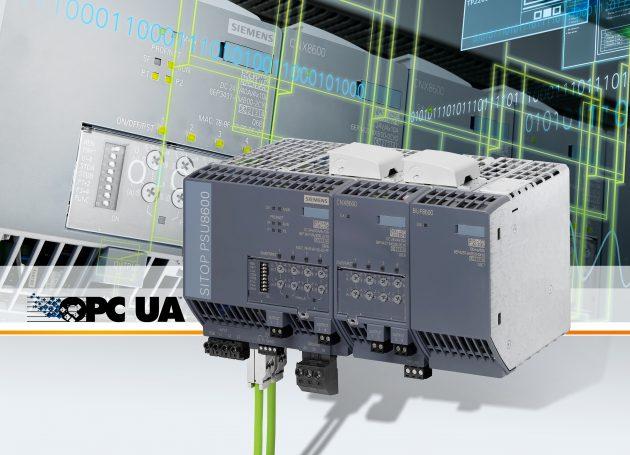 Stromversorgungen mit OPC UA-Anbindung