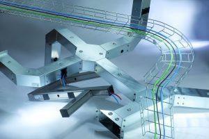 In der aktuellen EasyRoute-Version sind alle Komponenten der Pflitsch-Kanalsysteme Industrie-, PIK- und Gitter-Kanal enthalten, sodass sich geschlossene und offene Kabelkan?le am schirm zur Wunschkonfiguration kombinieren lassen. (Bild: Pflitsch GmbH & Co. KG)