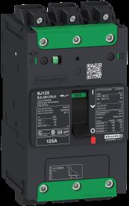 Der kompakte Leistungsschalter PowerPact B jetzt als Multistandard f?r OEM-Maschinenhersteller. (Bild: Schneider Electric GmbH)