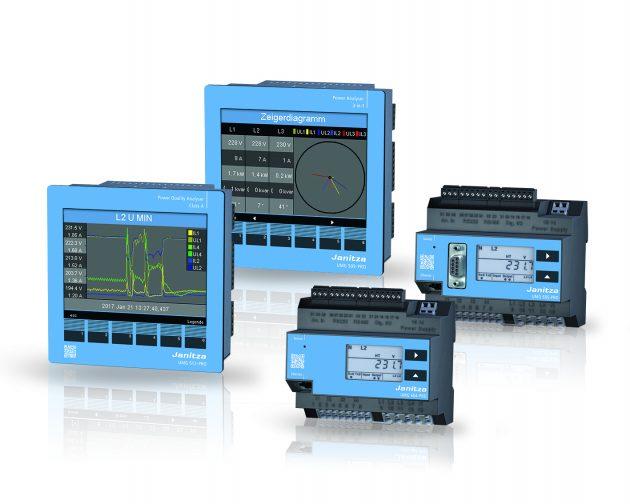 Moderne Technik und funktionelles Design - die UMG Pro-Serie (Bild: Janitza electronics GmbH)
