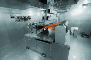 Strahlenvernetzungsanlage im Werk von Lapp-Korea (Bild: U.I. Lapp GmbH)