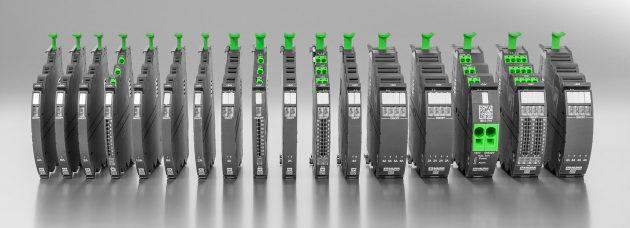 Die k?rzlich vorgestellte Mico-Pro-Familie zur Potenzialverteilung (Bild: Murrelektronik GmbH)