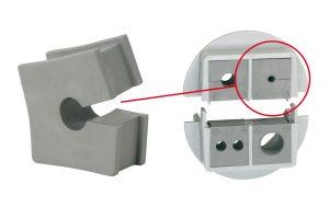 Die Kabelt?llen der Baureihen KT und QT sind nun auch f?r Kabeldurchmesser von 1mm erh?ltlich. (Bild: Icotek GmbH)