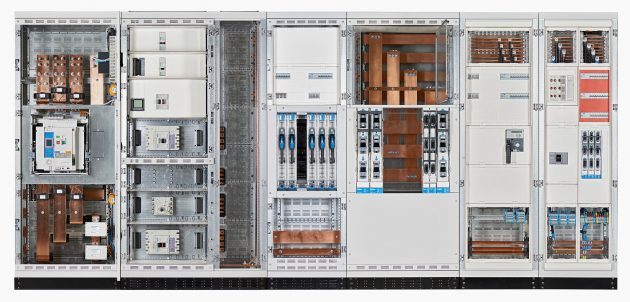Energieverteiler Unimes H mit Ausbau Univers N und integriertem aktiven St?rlichtbogenschutz (Bild: Hager Vertriebsgesellschaft mbH & Co. KG)
