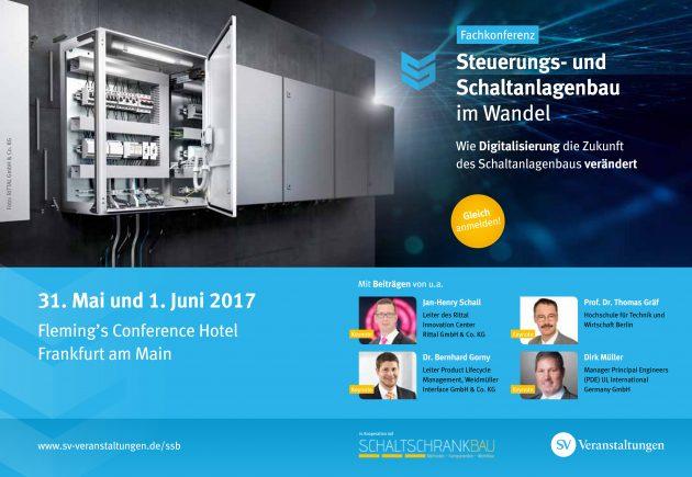 Fachkonferenz zum Steuerungs- und Schaltanlagenbau