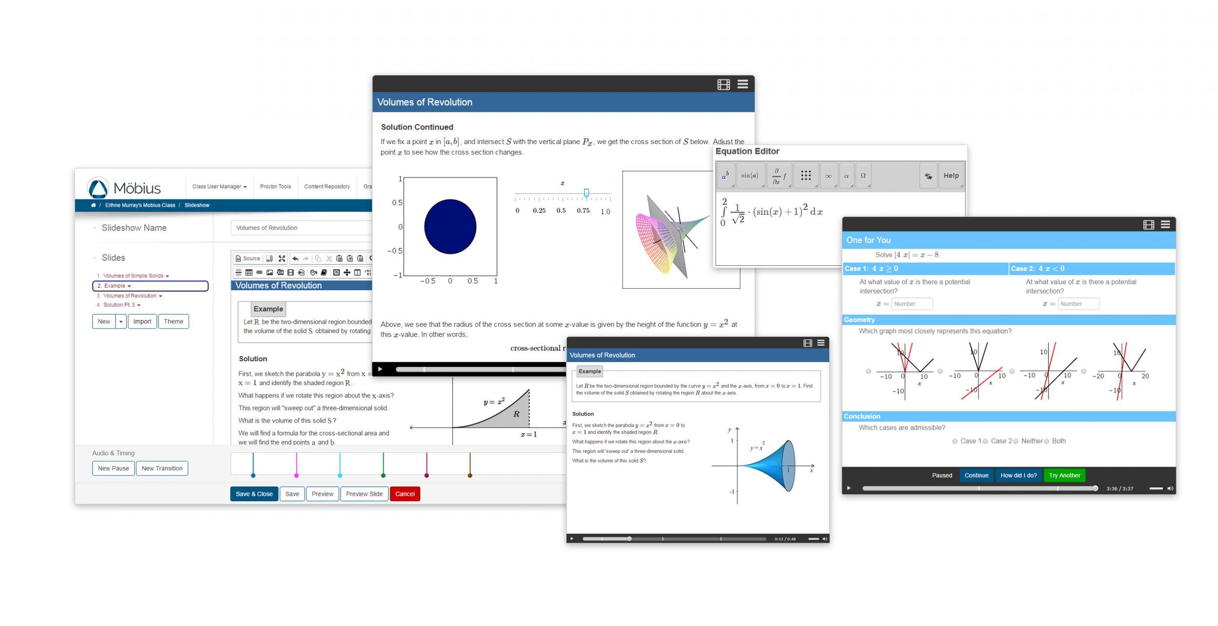 Online-MINT-Lernsoftwareumgebung Möbius