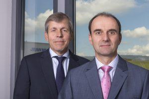 Führungs-Duo bei Jean Müller