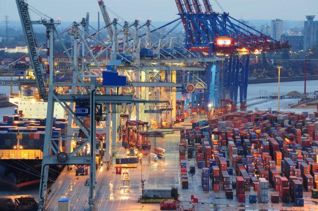 Zeit ist Geld - im Hamburger Hafen m?ssen komplexe Prozesse reibungslos funktionieren. (Bild: Eldon GmbH)