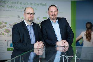 Geschäftsbereich Building von Schneider Electric mit neuer Doppelspitze