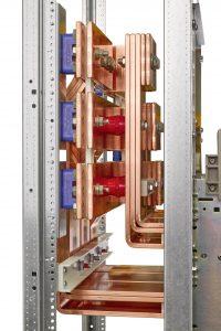 Bei den Kupplungen für die Sedotec-Marke Vamocon bleibt das Hauptsammelschienensystem auf seiner mittigen Standardhöhe. (Bild: Sedotec GmbH &Co. KG)