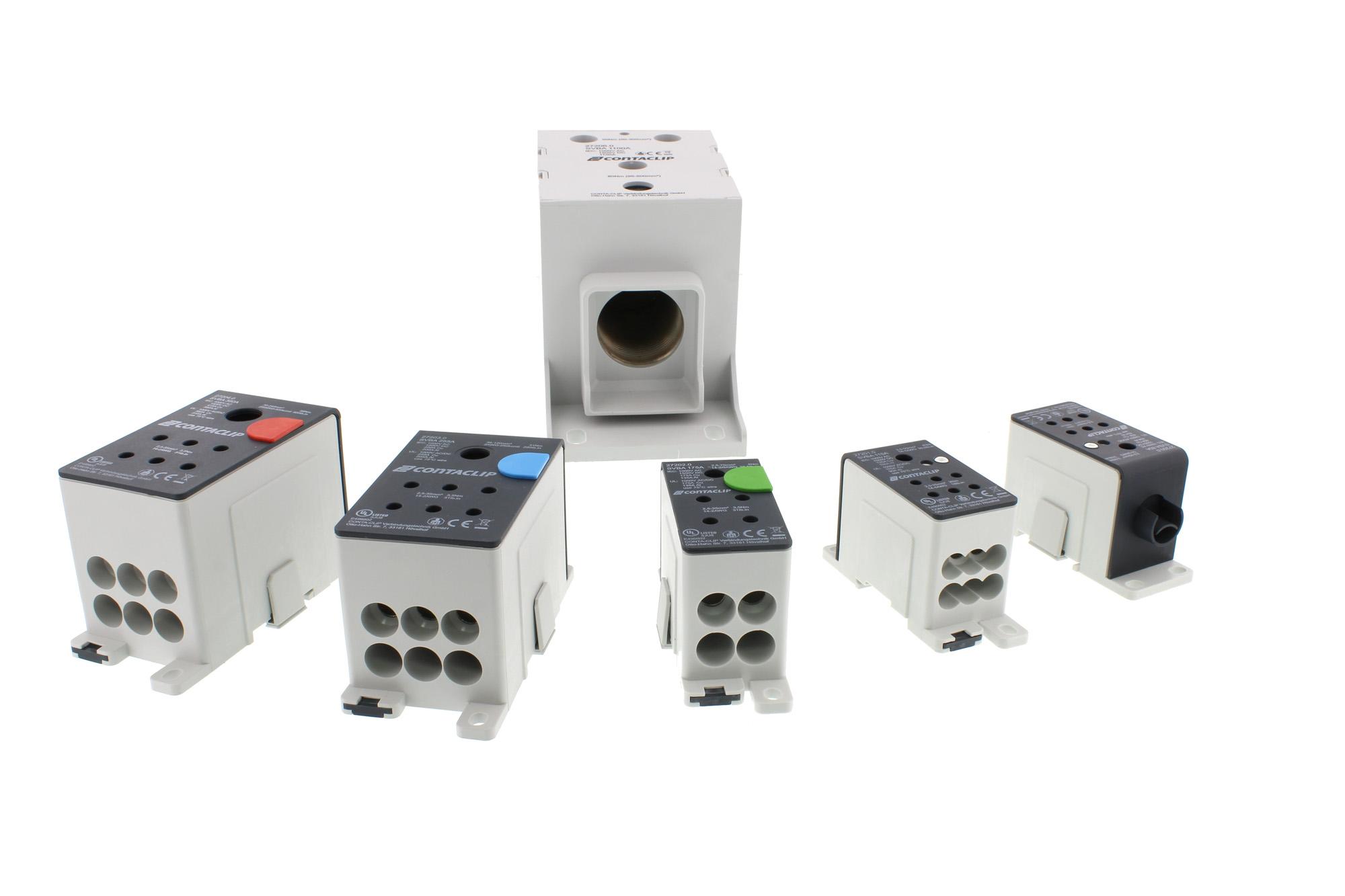 Kompaktverteiler für Leiter bis 500mm² und 1.100A