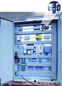 Dieser Schaltschrank kommt in der Automobilindustrie zum Einsatz und übernimmt dort die Steuerung einer Schweißanlage. (Bild: Wachendorff Prozesstechnik GmbH & Co. KG)