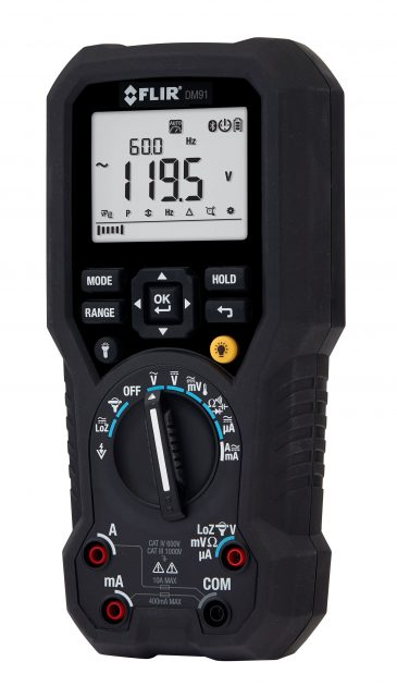 Industrie-Multimeter für die elektrische Inspektion ...