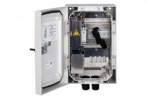 Neben einem PoE-Switch bietet die Outdoor DC Mikro-USV einen Li-Ion-Backup. (Bild: Slat GmbH)