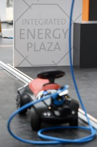 HANNOVER MESSE 2017 - Weltleitmesse der Industrie. Energy: Internationale Leitmesse für integrierte Energiesysteme und Mobilität, Integrated Energy Plaza, Halle 27/H50 (Bild: Deutsche Messe AG)