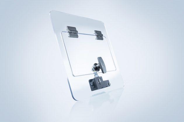 Bei Bedarf wird eCam auch in den Stromkreis einer Maschine eingebunden, um die Öffnung bzw. Notöffnung erst dann zu ermöglichen, wenn die Maschine stromlos ist. (Bild: EMKA Beschlagteile GmbH & Co. KG)