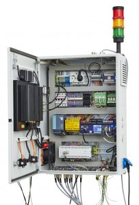 Loggito, die ideale Nachrüstung auch für volle Schaltschränke (Bild: Delphin Technology AG)