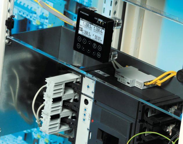 Der Remote-Monitor und Buskoppler Diris Digiware D-50 ermöglicht die lokale Überwachung aller angeschlossenen Geräte. (Bild: Socomec GmbH)