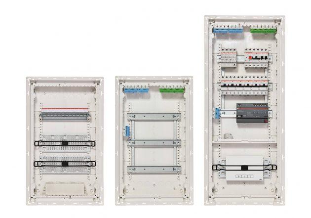 Die neuen Stromkreisverteiler bieten bis zu 200% mehr Anschlussraum gegenüber der Vorgängerversion. (Bild: ABB Stotz-Kontakt GmbH)
