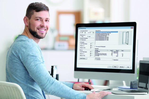 Die aktualisierte Hager Planungssoftware Hagercad bietet als Version 4.1 eine Reihe von Weiterentwicklungen und Zusatzfunktionen wie die Möglichkeit der Planung von Türkommunikationsanlagen. (Bild: Hager Vertriebsgesellschaft mbH & Co. KG)