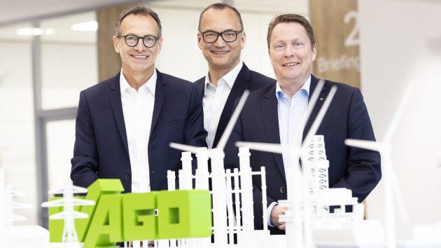 Von links: Jürgen Schäfer (CSO), Christian Sallach (CDO & CMO) und Sven Hohorst (CEO) präsentierten die aktuellen Geschäftszahlen der Wago-Gruppe. (Bild: Wago Kontakttechnik GmbH & Co. KG)
