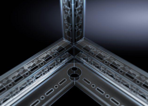Durch hohe Datenqualität und Durchgängigkeit im Engineering schafft Rittal die Voraussetzungen für die Verschmelzung realer und physischer Workflows (Bild: Rittal GmbH & Co. KG)