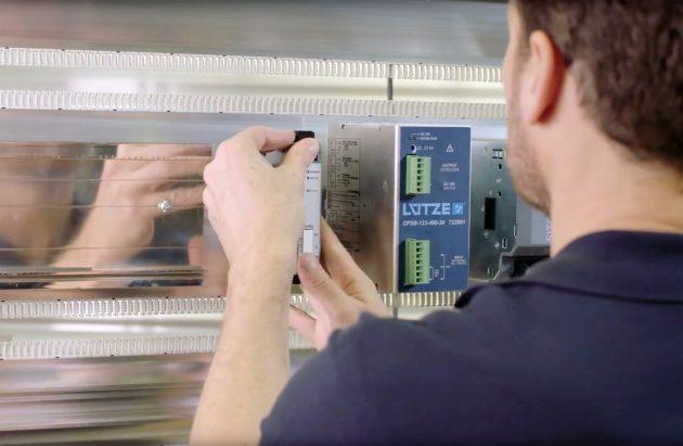 Neben den Potentialen des LÜTZE AirSTREAM Gesamtsystems zeigt das Video die einfache und übersichtliche Installation. (Bild: Friedrich Lütze GmbH)