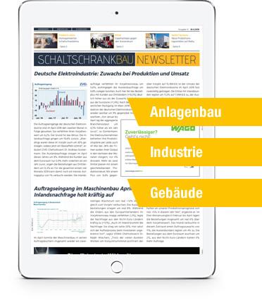 SCHALTSCHRANKBAU Newsletter