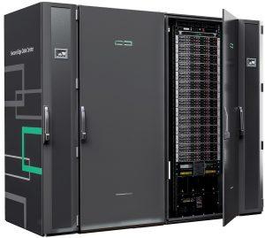 Das Secure Edge Datacenter (kurz SEDC) ist ein von ABB, Hewlett Packard Enterprise und Rittal entwickeltes mikromodulares Rechenzentrum, das auf der diesjährigen Hannover Messe erstmals vorgestellt wurde. (Bild: ABB Stotz-Kontakt GmbH)