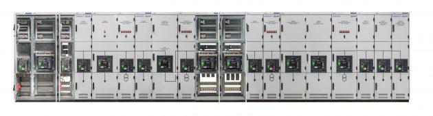 Eine 4000A VAMOCON Niederspannungsschaltanlage mit Leistungsschaltern von Schneider Electric sorgt in einer Ölmühle für eine moderne Energieverteilung. (Bild: Sedotec GmbH &Co. KG)