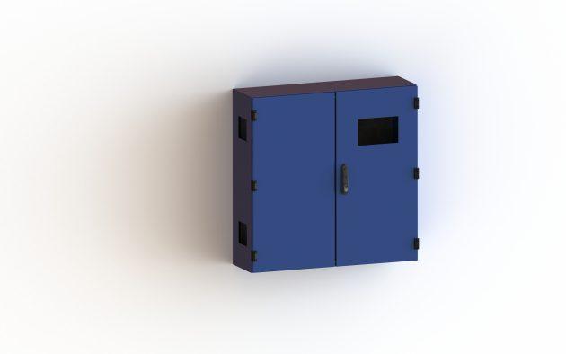 Für die Schaltschrank-Lackierung stehen alle RAL-Farben zur Auswahl. (Bild: FiMAB Fiedler Maschinenbau Blechbearbeitung GmbH)