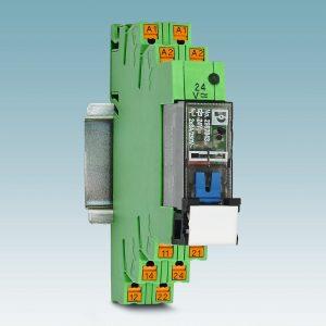 Die neuen Relaismodule eignen sich besonders für Wartung und Inbetriebnahme. (Bild: Phoenix Contact GmbH & Co. KG)