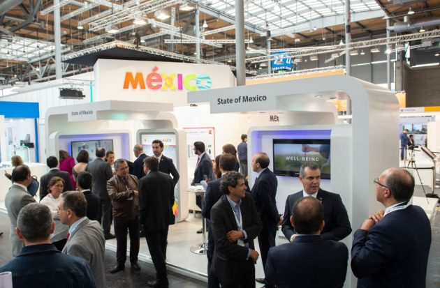Partnerland Mexiko, Kinetic Wall, Siemens, X-Ray Vehicle, CEMEX, Interactive Table, Halle 27, Stand H30 (Bild: Deutsche Messe AG)